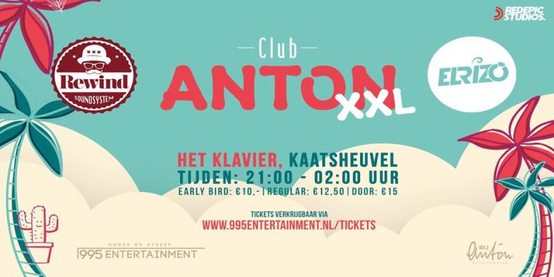 Rewind Soundsystem X Club Anton XXL