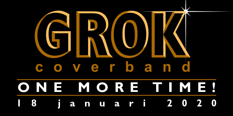 Coverband GROK… One More Time!