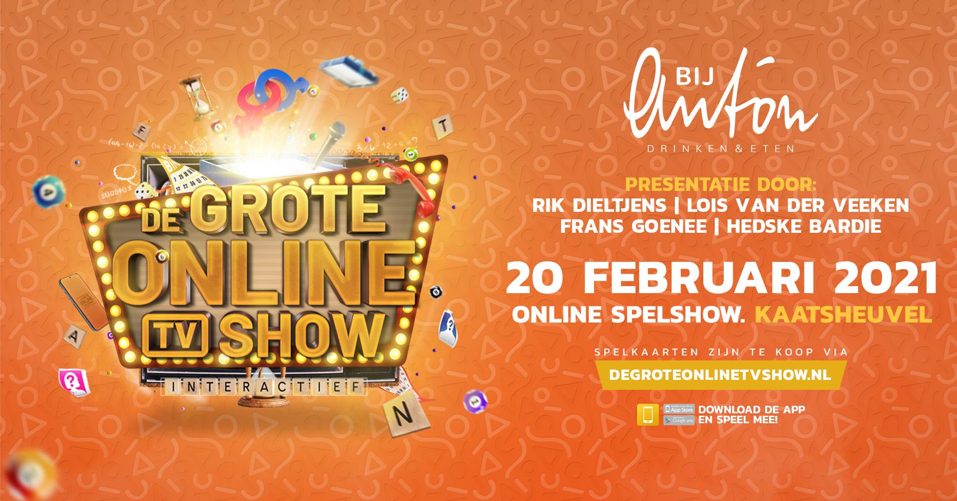 De Grote Online TV Show Van Kaatsheuvel
